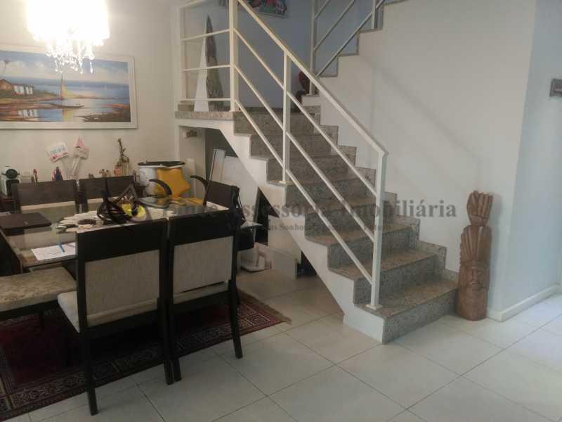3 sala jantar - Casa Tijuca, Norte,Rio de Janeiro, RJ À Venda, 3 Quartos, 240m² - TACA30096 - 4