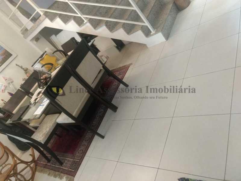 4 A sala jantar - Casa Tijuca, Norte,Rio de Janeiro, RJ À Venda, 3 Quartos, 240m² - TACA30096 - 5