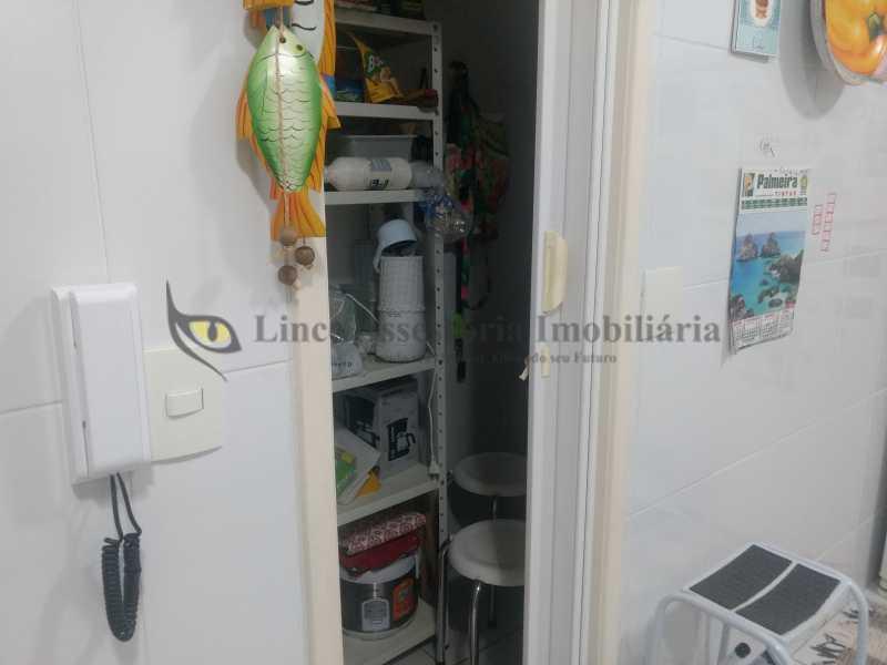 21 dispensa - Casa Tijuca, Norte,Rio de Janeiro, RJ À Venda, 3 Quartos, 240m² - TACA30096 - 22