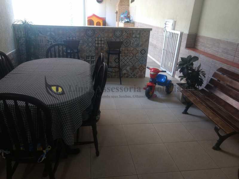 22 àrea coberta - Casa Tijuca, Norte,Rio de Janeiro, RJ À Venda, 3 Quartos, 240m² - TACA30096 - 23