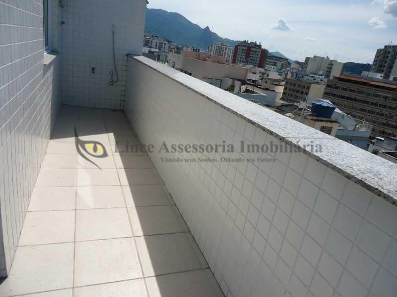Vista - Cobertura 3 quartos à venda Tijuca, Norte,Rio de Janeiro - R$ 899.000 - TACO30129 - 1
