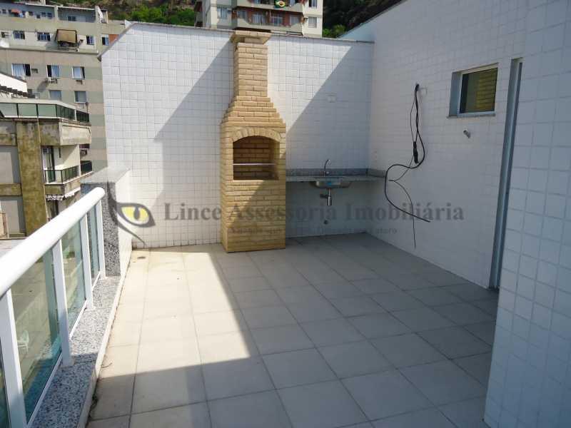 Churrasqueira - Cobertura 3 quartos à venda Tijuca, Norte,Rio de Janeiro - R$ 899.000 - TACO30129 - 16