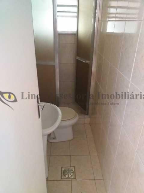 Banheiro Serviço 1 - Apartamento À Venda - Tijuca - Rio de Janeiro - RJ - TAAP31077 - 14