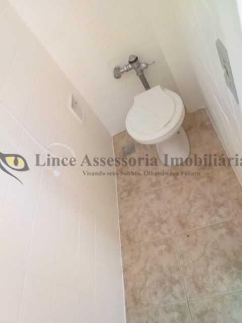 Banheiro Serviço - Apartamento À Venda - Tijuca - Rio de Janeiro - RJ - TAAP31077 - 13