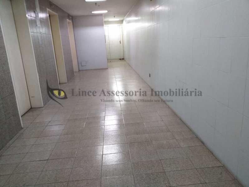 corredor area comum - Sala Comercial Centro, Centro,Rio de Janeiro, RJ À Venda, 33m² - TASL00077 - 1