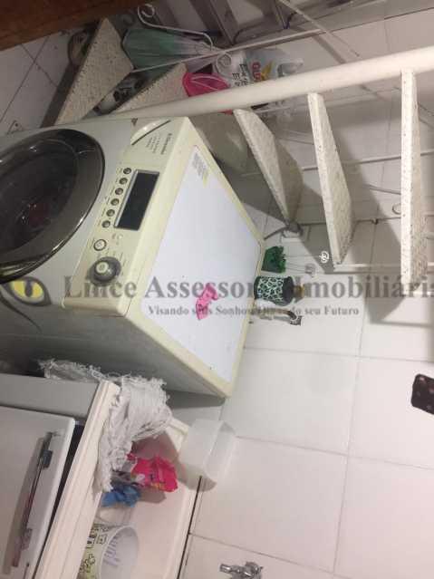 11 área - Apartamento 3 quartos à venda Grajaú, Norte,Rio de Janeiro - R$ 504.000 - TAAP31086 - 12