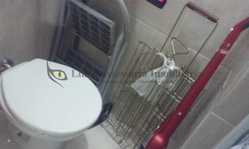 banheiro empregada - Apartamento 2 quartos à venda Tijuca, Norte,Rio de Janeiro - R$ 495.000 - TAAP21923 - 14