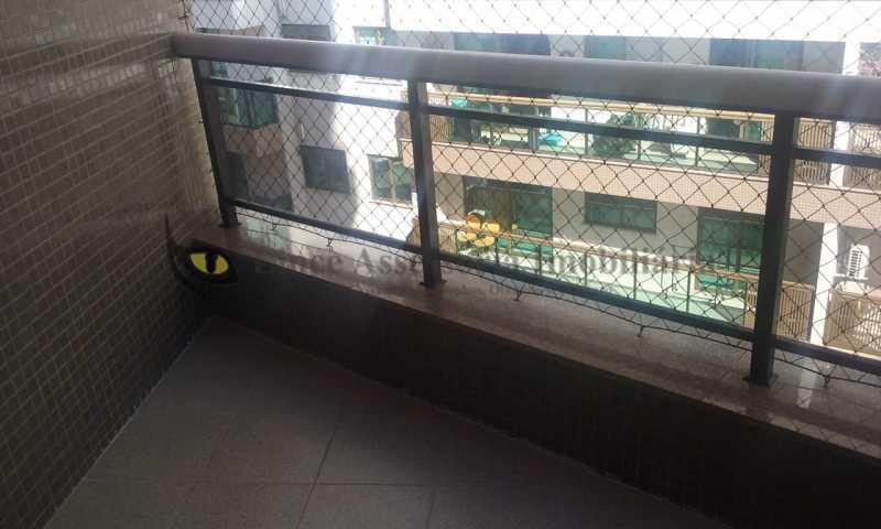 sacada1quarto1 - Apartamento Tijuca, Norte,Rio de Janeiro, RJ À Venda, 3 Quartos, 148m² - TAAP31096 - 5