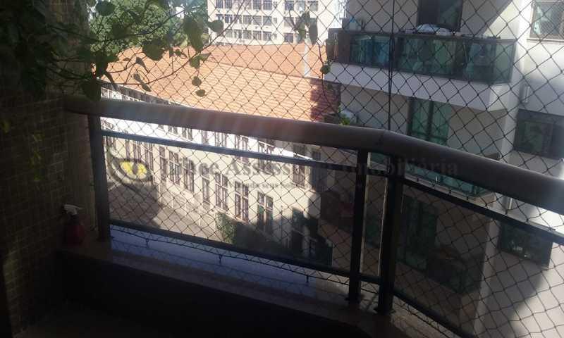 varanda sala - Apartamento Tijuca, Norte,Rio de Janeiro, RJ À Venda, 3 Quartos, 148m² - TAAP31096 - 1