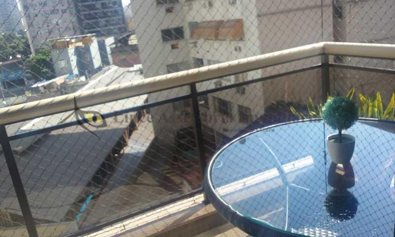 varanda suite - Apartamento Tijuca, Norte,Rio de Janeiro, RJ À Venda, 3 Quartos, 148m² - TAAP31096 - 3