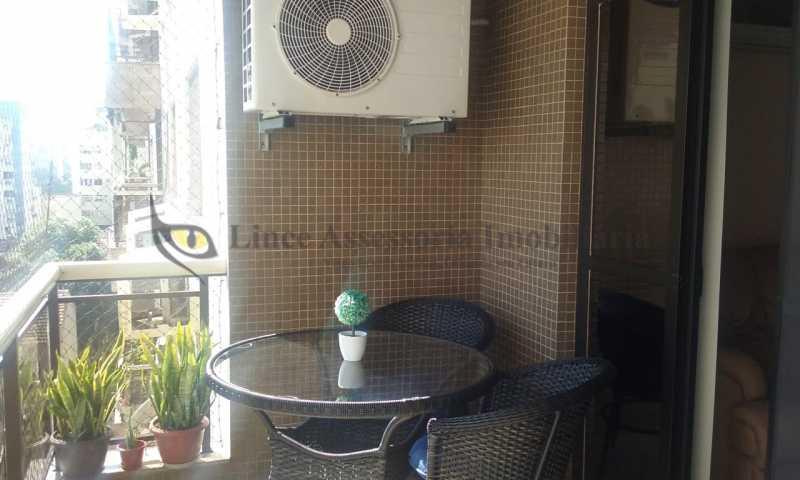 varanda suite 1 - Apartamento Tijuca, Norte,Rio de Janeiro, RJ À Venda, 3 Quartos, 148m² - TAAP31096 - 4