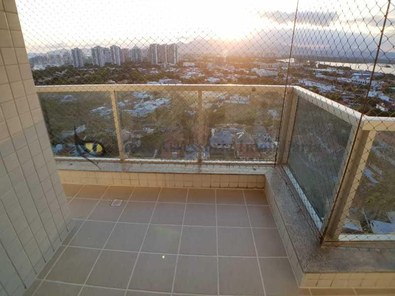 01VARANDA - Apartamento 2 quartos à venda Barra da Tijuca, Oeste,Rio de Janeiro - R$ 887.000 - TAAP21954 - 1