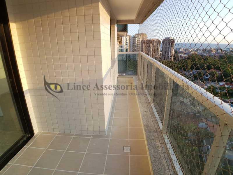 03.1VARANDA - Apartamento 2 quartos à venda Barra da Tijuca, Oeste,Rio de Janeiro - R$ 887.000 - TAAP21954 - 4
