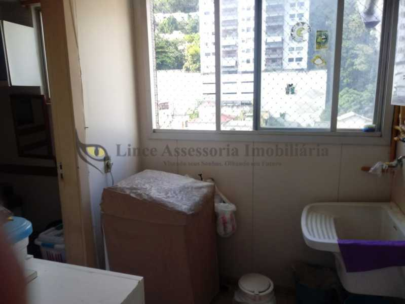 área de serviço1 - Apartamento 4 quartos à venda Tijuca, Norte,Rio de Janeiro - R$ 895.000 - TAAP40147 - 25