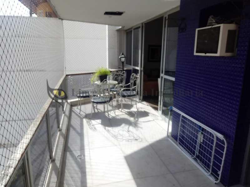 varanda 2 - Apartamento 4 quartos à venda Tijuca, Norte,Rio de Janeiro - R$ 895.000 - TAAP40147 - 1