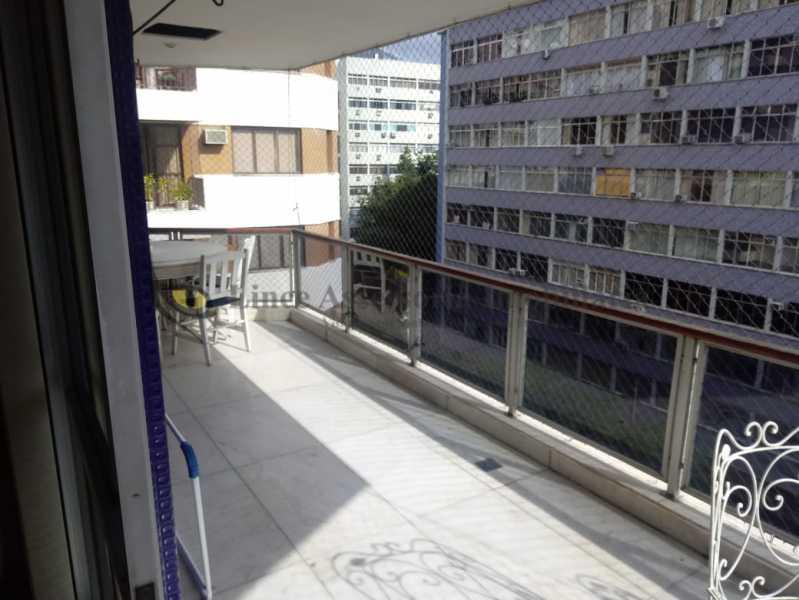 varanda1 - Apartamento 4 quartos à venda Tijuca, Norte,Rio de Janeiro - R$ 895.000 - TAAP40147 - 4