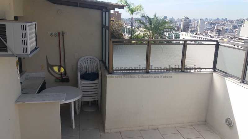Terraço - Cobertura 3 quartos à venda Tijuca, Norte,Rio de Janeiro - R$ 799.000 - TACO30133 - 14