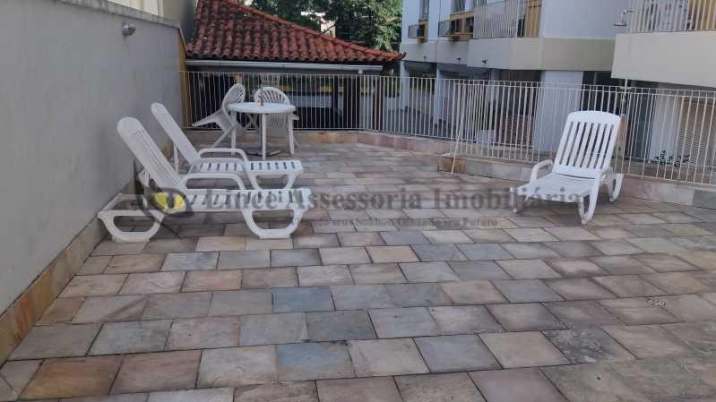 Espaço próximo a piscina - Cobertura 3 quartos à venda Tijuca, Norte,Rio de Janeiro - R$ 799.000 - TACO30133 - 24
