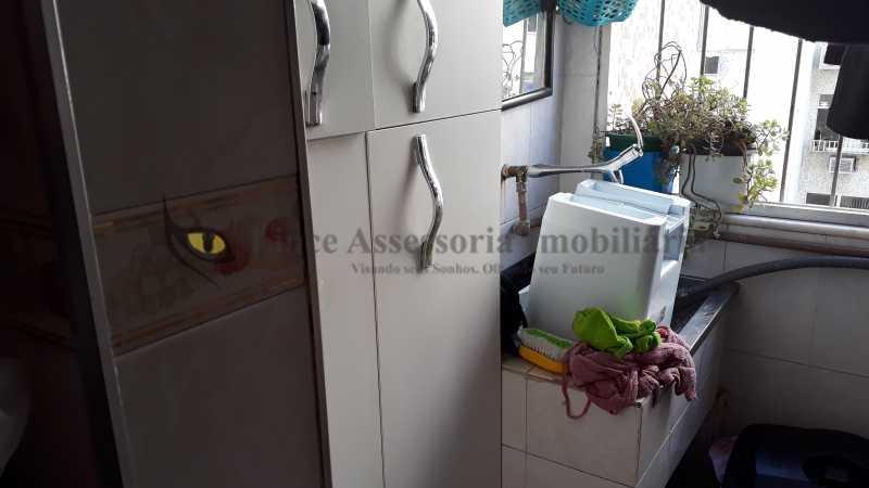 17 área serv - Apartamento 2 quartos à venda Tijuca, Norte,Rio de Janeiro - R$ 360.000 - TAAP21975 - 18