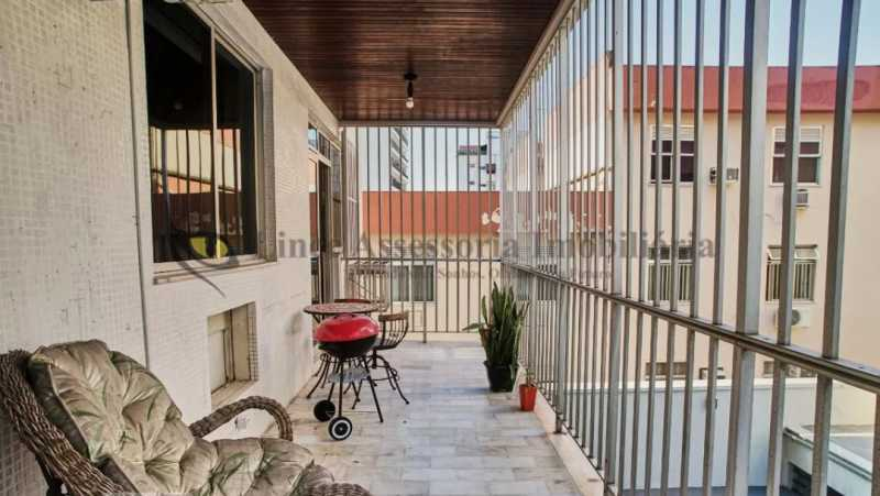 1 - varanda - Apartamento 2 quartos à venda Andaraí, Norte,Rio de Janeiro - R$ 500.000 - TAAP21979 - 1