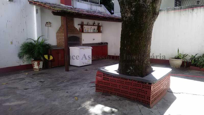 quintal com churrasq - Casa 4 quartos à venda Tijuca, Norte,Rio de Janeiro - R$ 2.500.000 - TACA40062 - 5