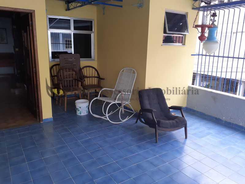 15terraço - Casa de Vila Tijuca, Norte,Rio de Janeiro, RJ À Venda, 4 Quartos, 230m² - TACV40023 - 16