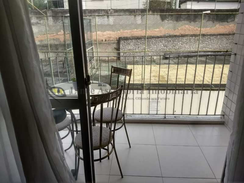 VISTA DA SALA - Apartamento Méier, Rio de Janeiro, RJ À Venda, 2 Quartos, 74m² - TAAP22028 - 6
