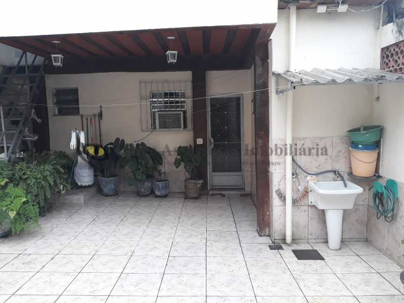 ÁREA EXTERNA - Casa 3 quartos à venda Méier, Norte,Rio de Janeiro - R$ 500.000 - TACA30101 - 14