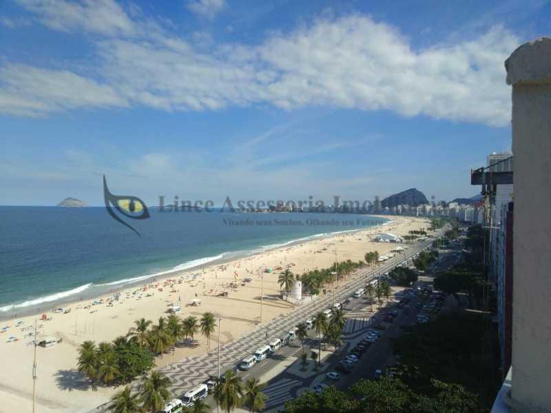1 Vista da cobertura - Cobertura Leme, Sul,Rio de Janeiro, RJ À Venda, 3 Quartos, 219m² - TACO30134 - 1
