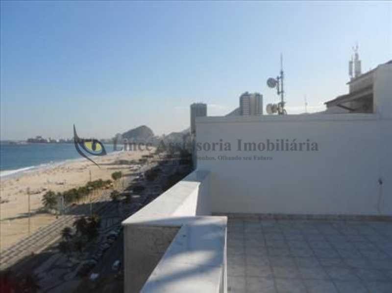 19 Terraço - Cobertura Leme, Sul,Rio de Janeiro, RJ À Venda, 3 Quartos, 219m² - TACO30134 - 4