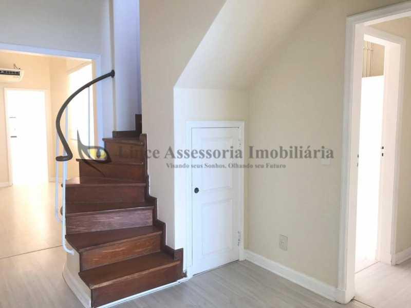 20 escada linear - Cobertura Leme, Sul,Rio de Janeiro, RJ À Venda, 3 Quartos, 219m² - TACO30134 - 20