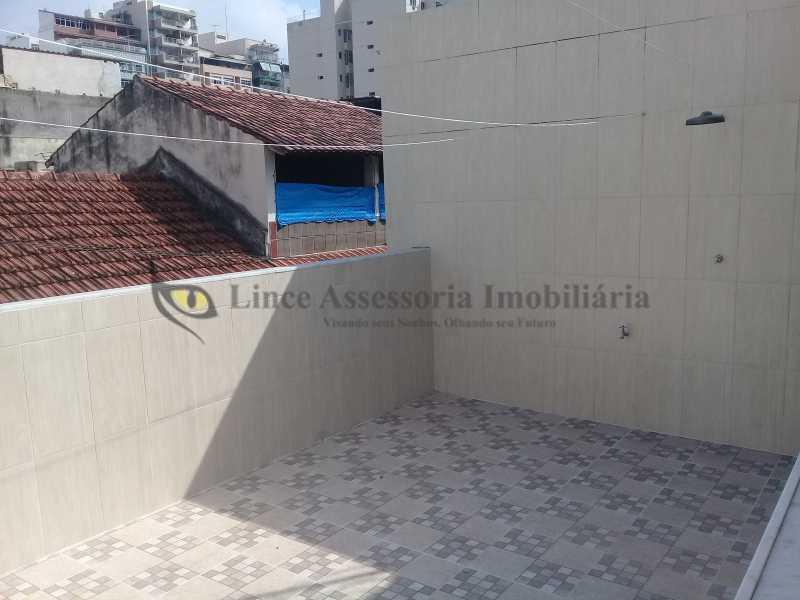 17 TERRAÇO1.1 - Casa de Vila Tijuca, Norte,Rio de Janeiro, RJ À Venda, 2 Quartos, 80m² - TACV20067 - 20