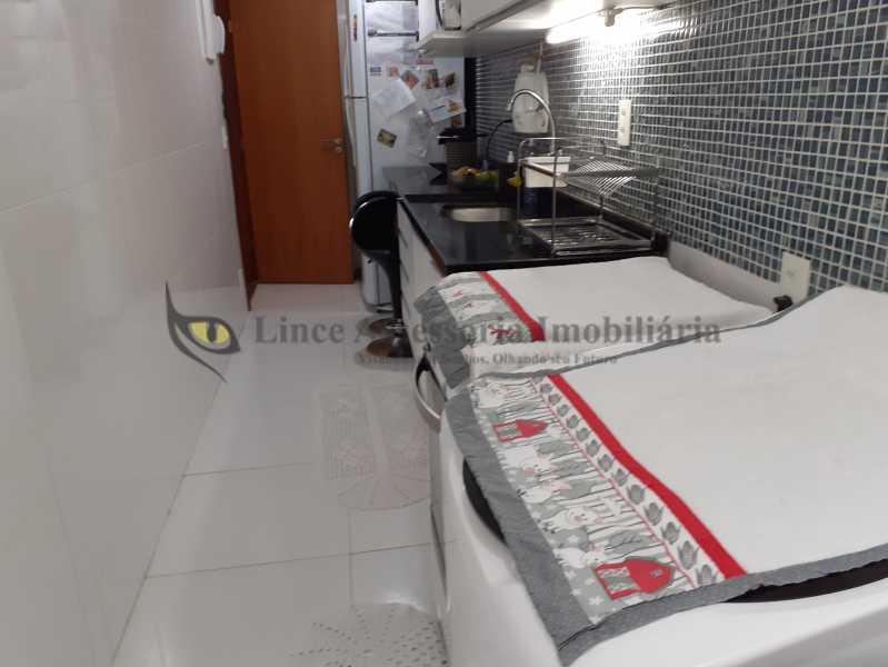 area serviço1.2 - Apartamento Rio Comprido, Norte,Rio de Janeiro, RJ À Venda, 2 Quartos, 58m² - TAAP22050 - 22