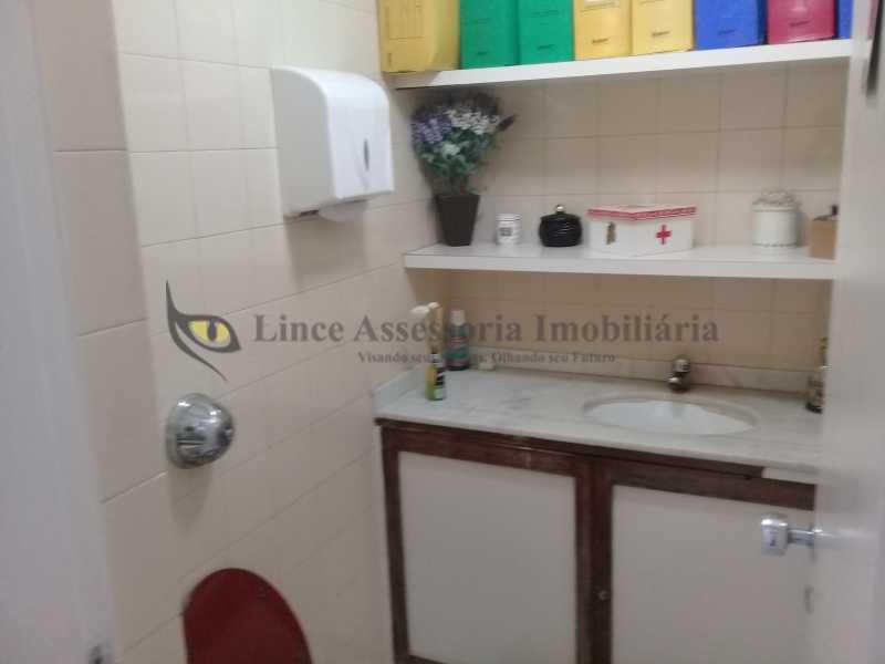 7 BANHEIRO1.0 - Sala Comercial Tijuca, Norte,Rio de Janeiro, RJ À Venda, 30m² - TASL00085 - 8
