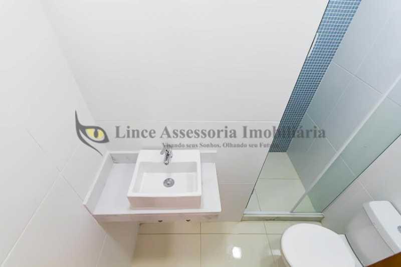 Banheiro social - Apartamento Botafogo, Sul,Rio de Janeiro, RJ À Venda, 2 Quartos, 50m² - TAAP22088 - 8
