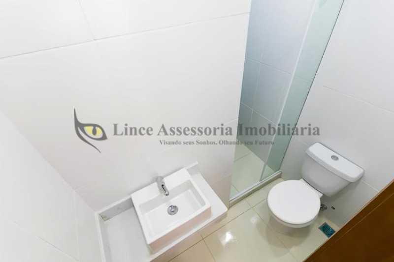 Banheiro social - Apartamento Botafogo, Sul,Rio de Janeiro, RJ À Venda, 2 Quartos, 50m² - TAAP22088 - 9