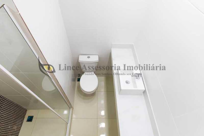 Banheiro social - Apartamento Botafogo, Sul,Rio de Janeiro, RJ À Venda, 2 Quartos, 50m² - TAAP22088 - 13