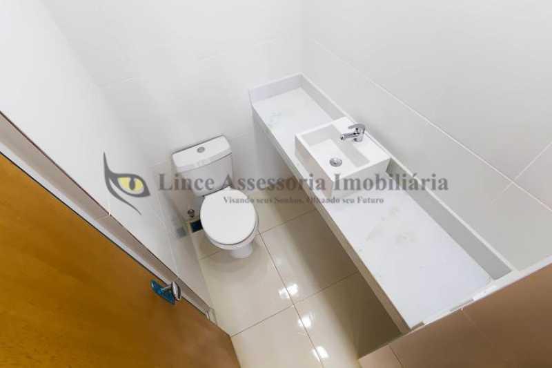 Banheiro - Apartamento Botafogo, Sul,Rio de Janeiro, RJ À Venda, 2 Quartos, 50m² - TAAP22088 - 16