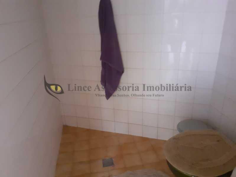 banheirode serviço - Casa Grajaú, Norte,Rio de Janeiro, RJ À Venda, 4 Quartos, 472m² - TACA40067 - 25