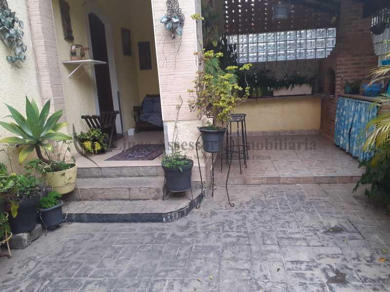 churrasqueiraevarandafrente - Casa Grajaú, Norte,Rio de Janeiro, RJ À Venda, 4 Quartos, 472m² - TACA40067 - 5