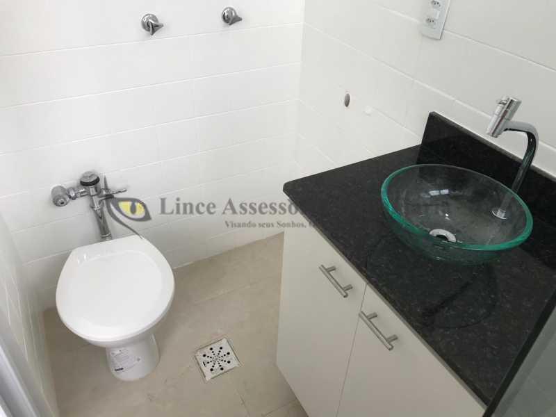 banheiro1.1 - Kitnet/Conjugado 24m² à venda Laranjeiras, Sul,Rio de Janeiro - R$ 265.000 - TAKI00088 - 6