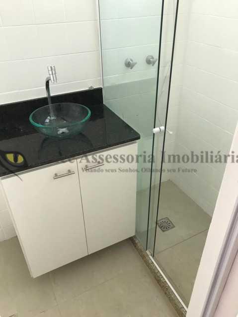 banheiro1.2 - Kitnet/Conjugado 24m² à venda Laranjeiras, Sul,Rio de Janeiro - R$ 265.000 - TAKI00088 - 7