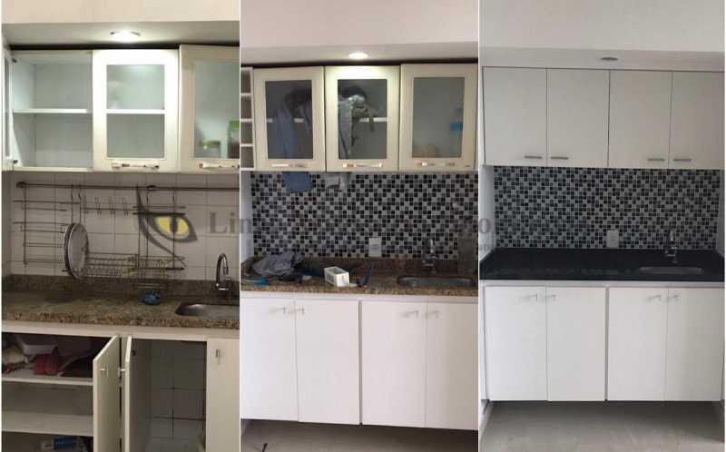 cozinhaantesedepoisdareforma - Kitnet/Conjugado 24m² à venda Laranjeiras, Sul,Rio de Janeiro - R$ 265.000 - TAKI00088 - 16