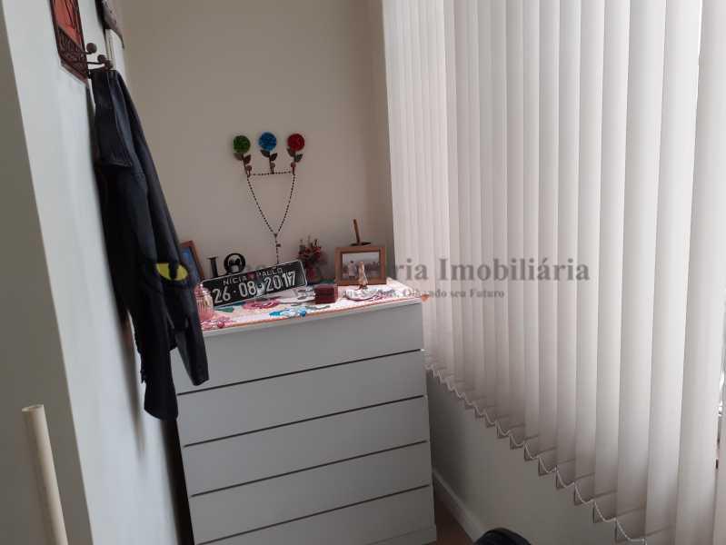 7-Varanda do Quarto Suíte1.3 - Apartamento 2 quartos à venda Grajaú, Norte,Rio de Janeiro - R$ 500.000 - TAAP22167 - 8