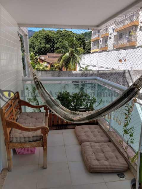 VARANDA - Cobertura 2 quartos à venda Grajaú, Norte,Rio de Janeiro - R$ 830.000 - TACO20087 - 7