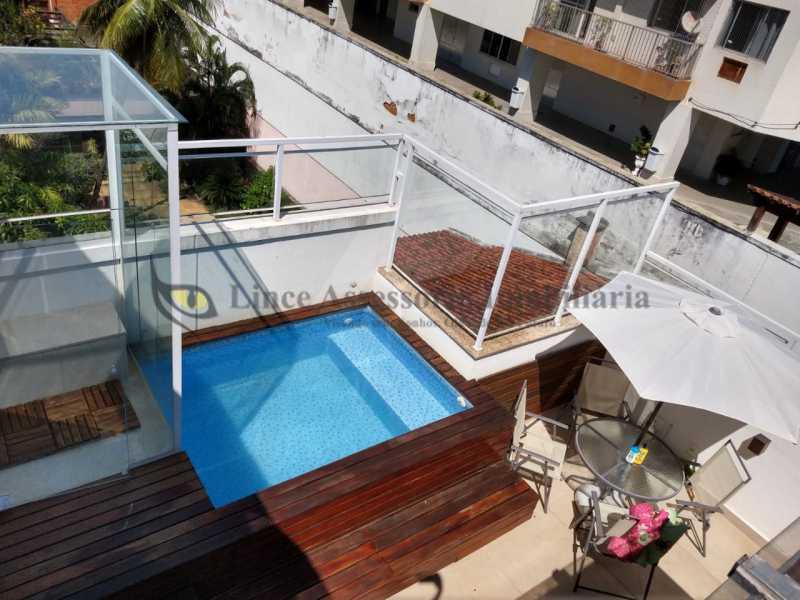 PISCINA - Cobertura 2 quartos à venda Grajaú, Norte,Rio de Janeiro - R$ 830.000 - TACO20087 - 22