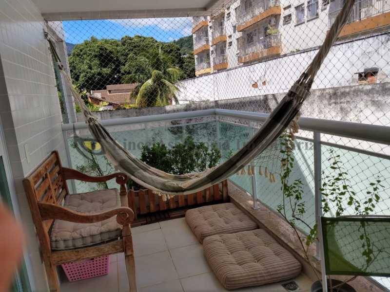 VARANDA - Cobertura 2 quartos à venda Grajaú, Norte,Rio de Janeiro - R$ 830.000 - TACO20087 - 8