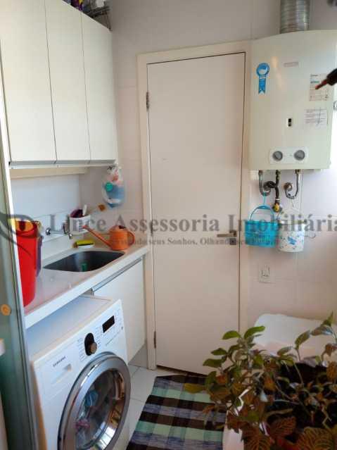 AREA DE SERVIÇO - Cobertura 2 quartos à venda Grajaú, Norte,Rio de Janeiro - R$ 830.000 - TACO20087 - 21