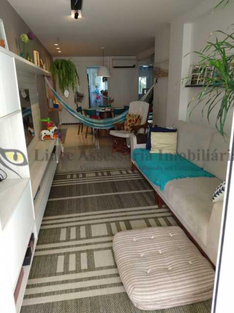SALA - Cobertura 2 quartos à venda Grajaú, Norte,Rio de Janeiro - R$ 830.000 - TACO20087 - 3