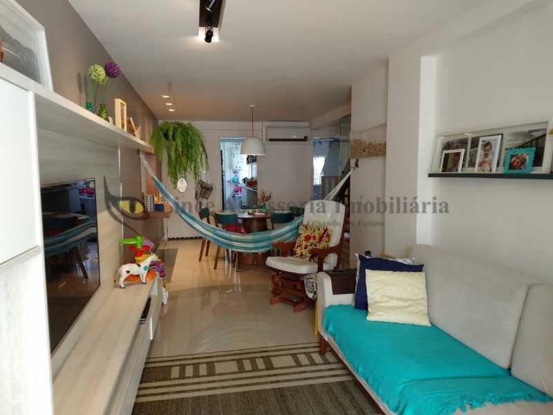 SALA - Cobertura 2 quartos à venda Grajaú, Norte,Rio de Janeiro - R$ 830.000 - TACO20087 - 1